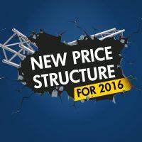 Anouncement prices 2016