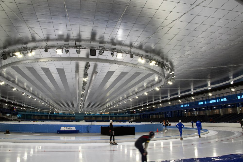 Eurotruss proudly presents; new Thialf Ice Skating Stadium ...