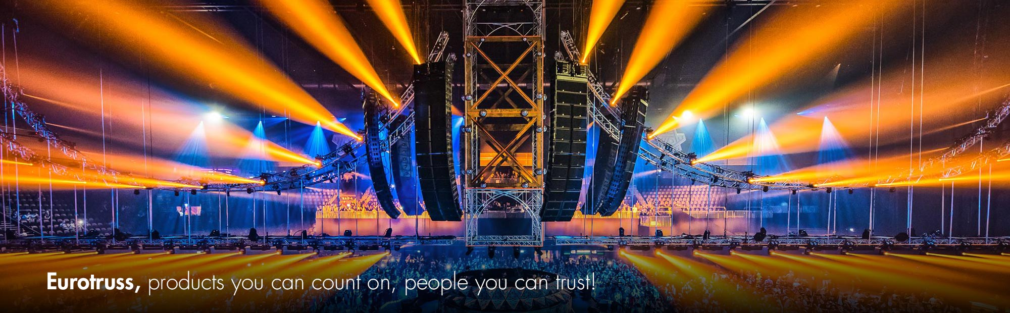 Eurotruss, supplier of truss, stages and rigging gear